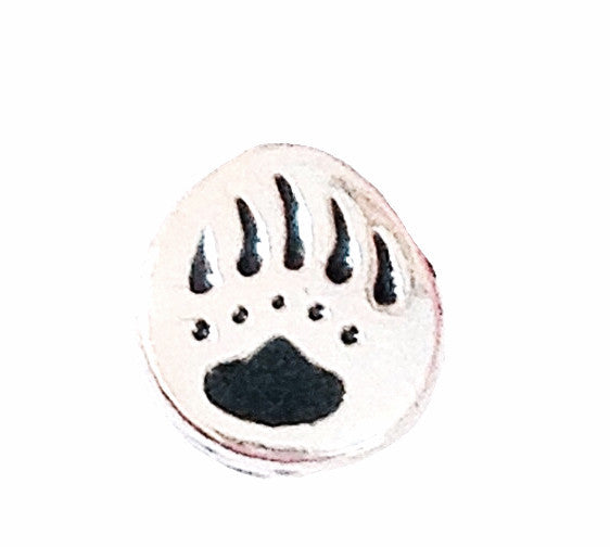 Bear Paw Floating Charm - Stoney Creek Charms