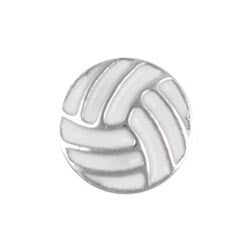 Volleyball floating locket charm - Stoney Creek Charms