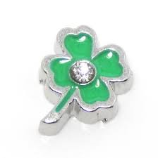 Clover Floating Charm