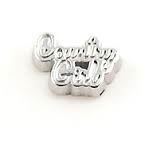 Country Girl Floating Charm - Stoney Creek Charms