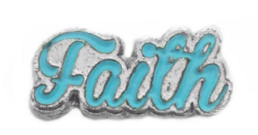 Faith Floating Charm - Stoney Creek Charms