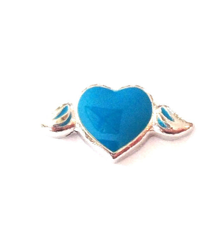 Blue Wing Heart - Stoney Creek Charms