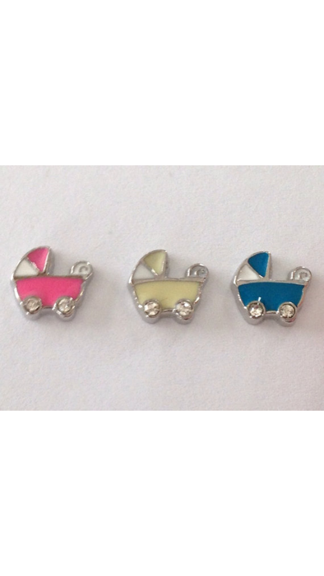 Baby Carriage Charms - Stoney Creek Charms