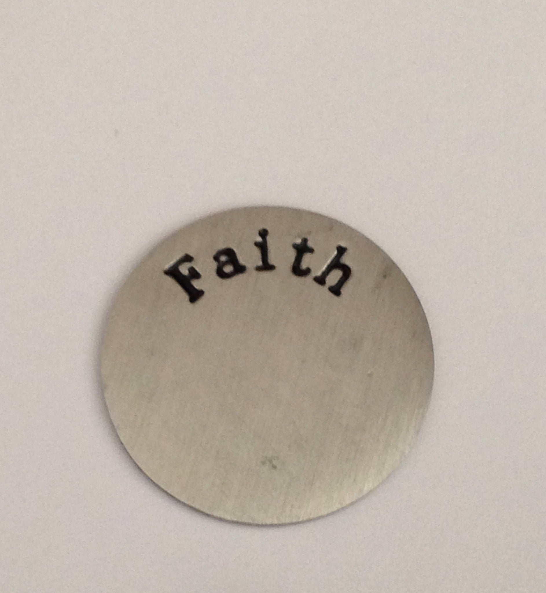 Faith Floating Locket Plate