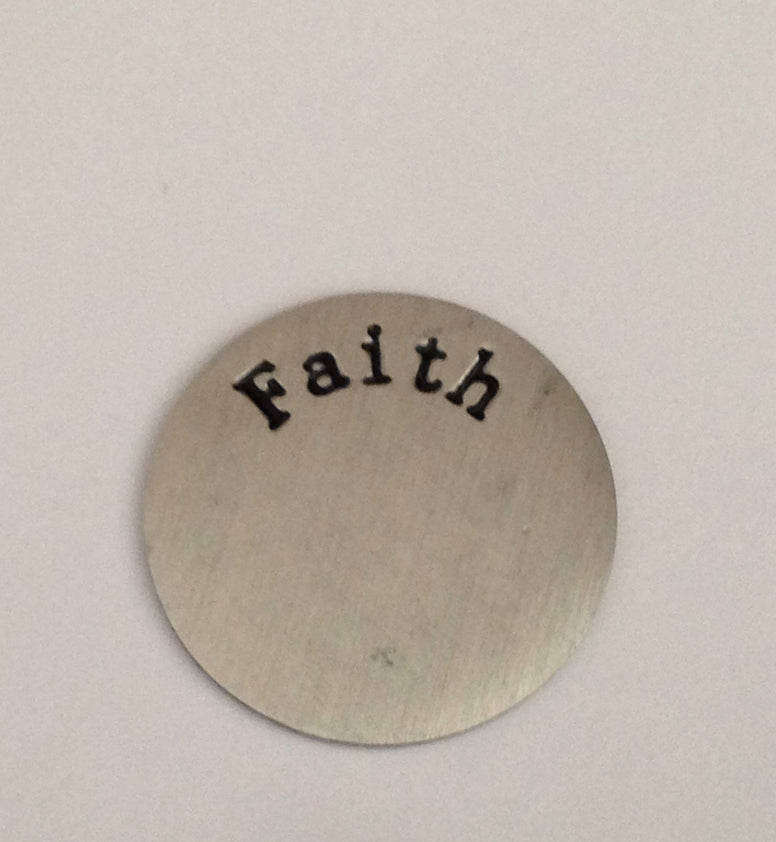Faith Floating Locket Plate - Stoney Creek Charms