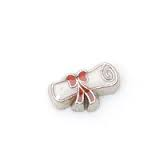 Diploma Graduation Floating Charm