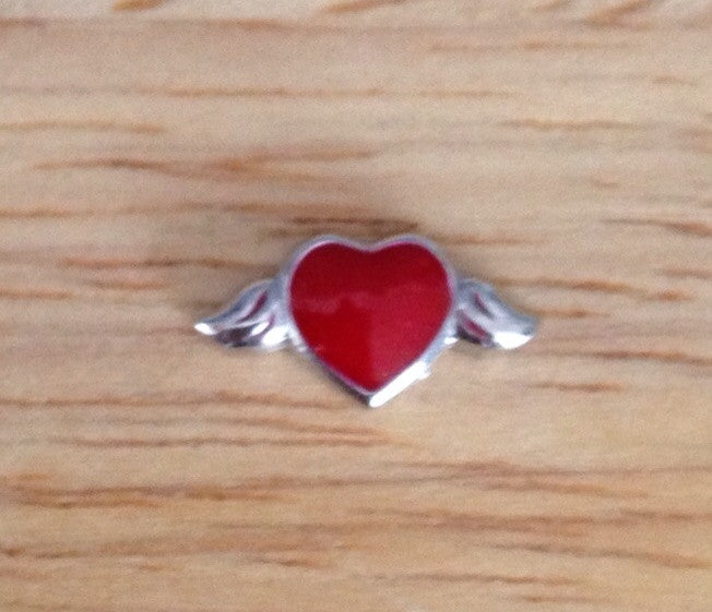 Red Wing Heart - Stoney Creek Charms