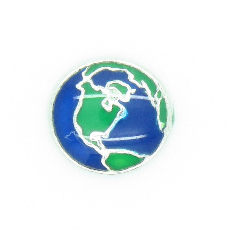 Earth Floating charm - Stoney Creek Charms