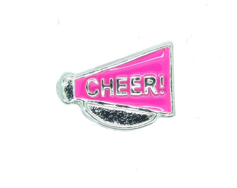Cheer Floating Charm - Stoney Creek Charms