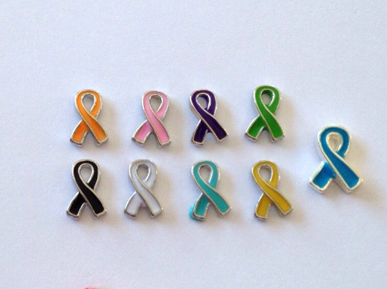 Awareness Ribbons - Stoney Creek Charms