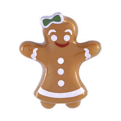 Gingerbread Girl Charm - Stoney Creek Charms