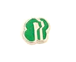 Girl Scouts Floating Charm