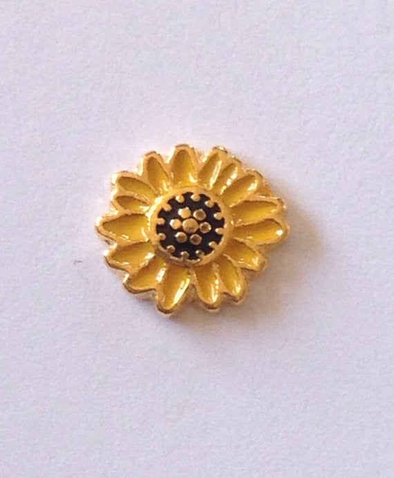 Sunflower Floating Charm - Stoney Creek Charms
