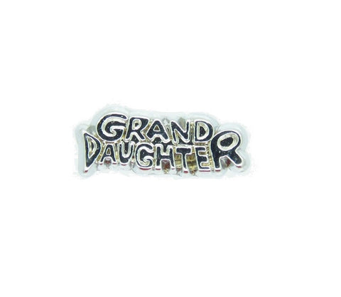 Grand Daughter Floating Charm - Stoney Creek Charms