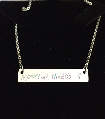 Signature Custom Bar Necklace