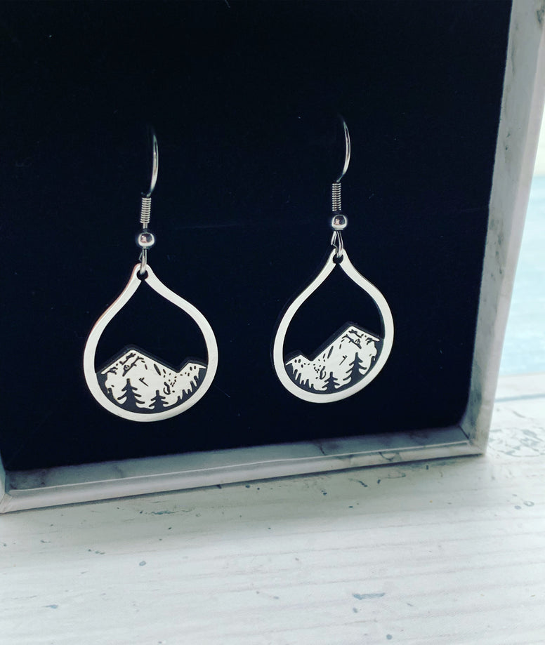 Mountain Drop Earrings
