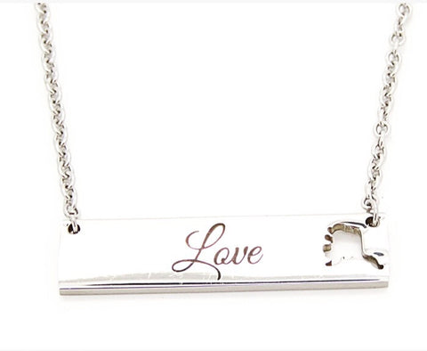 Alaska Love Necklace Small