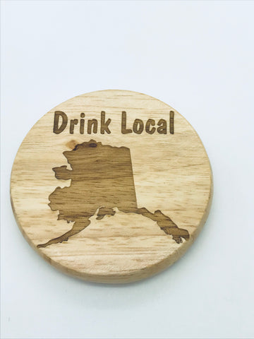 Wood Magnetic Bottle Opener