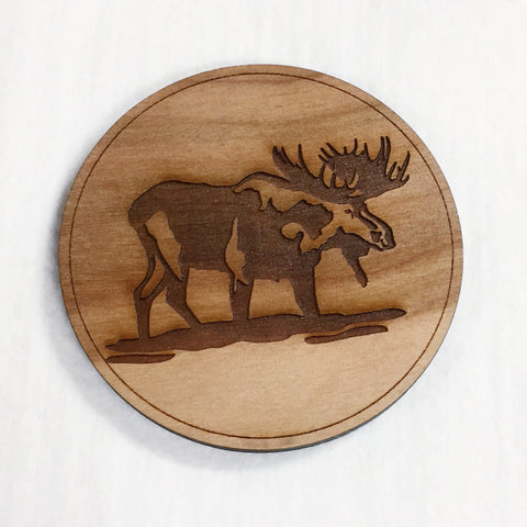 Wooden Birch Coasters