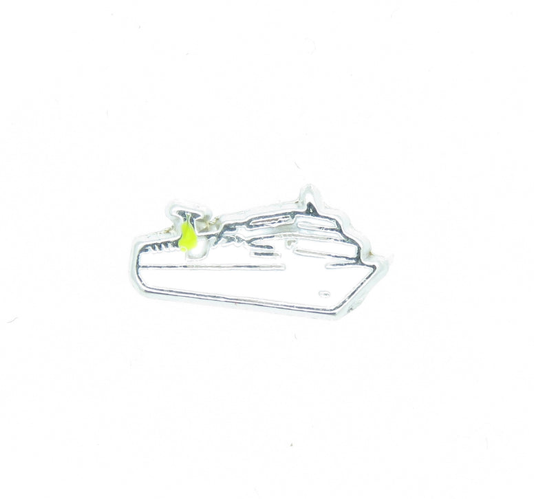 Cruise Ship Floating Charm - Stoney Creek Charms