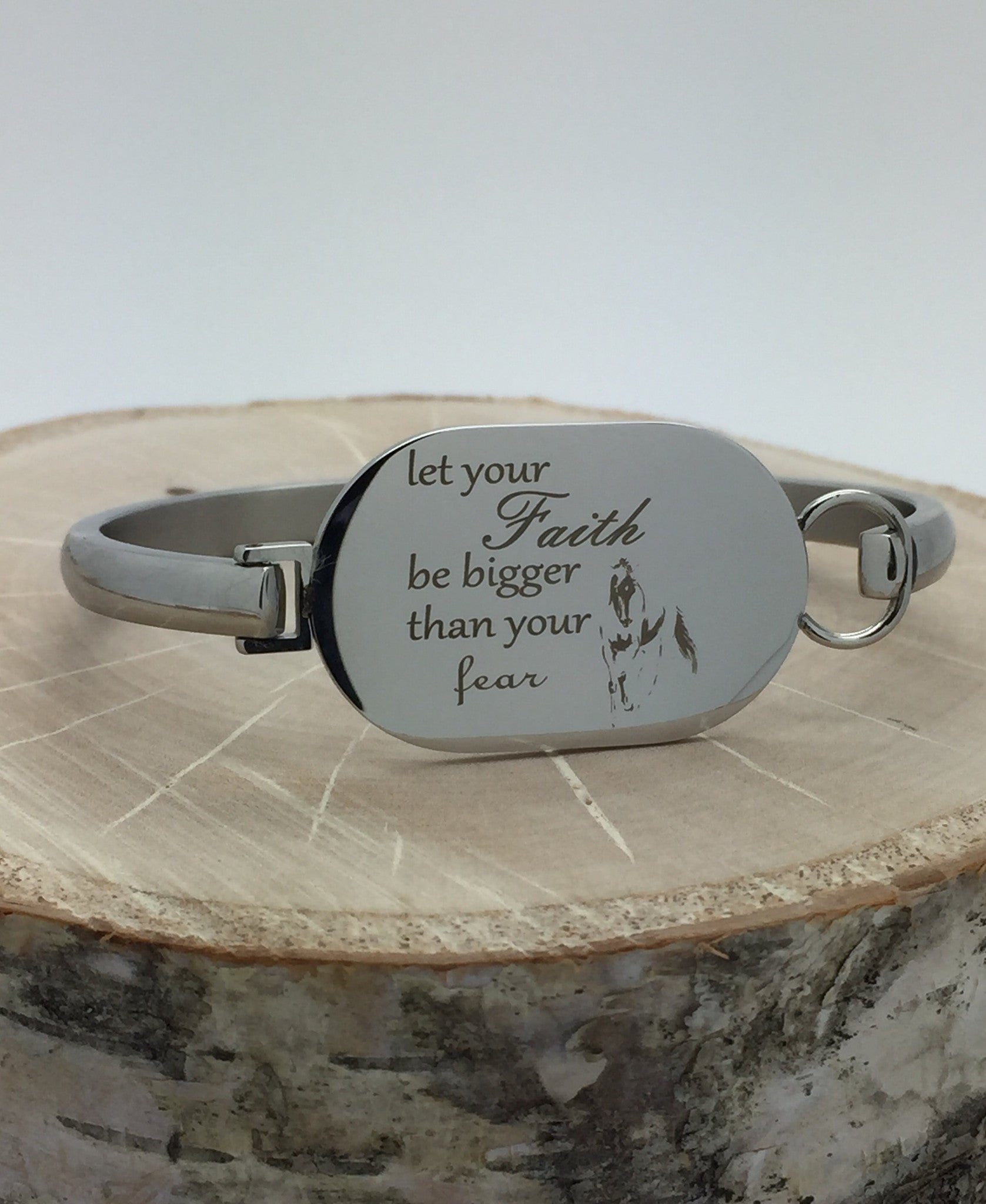 Exclusive Personalized Bangle Bracelet