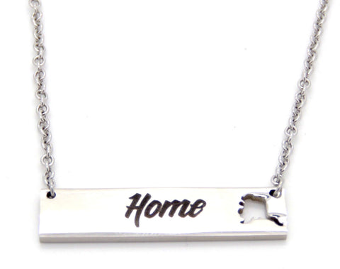 Alaska Home Necklace Small