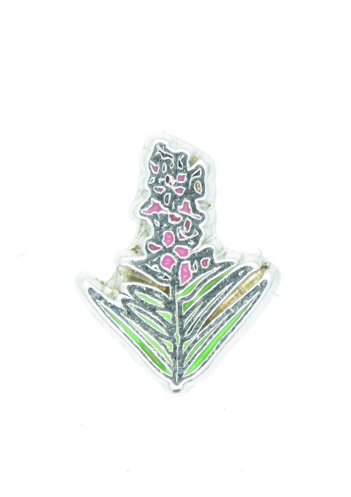 Fireweed Floating Charm