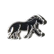 Black Horse Floating Charm - Stoney Creek Charms