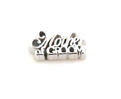 Mother of Groom Floating Charm