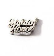 Maid of Honor Floating Charm