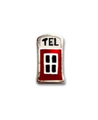 Telephone Booth Floating Charm - Stoney Creek Charms
