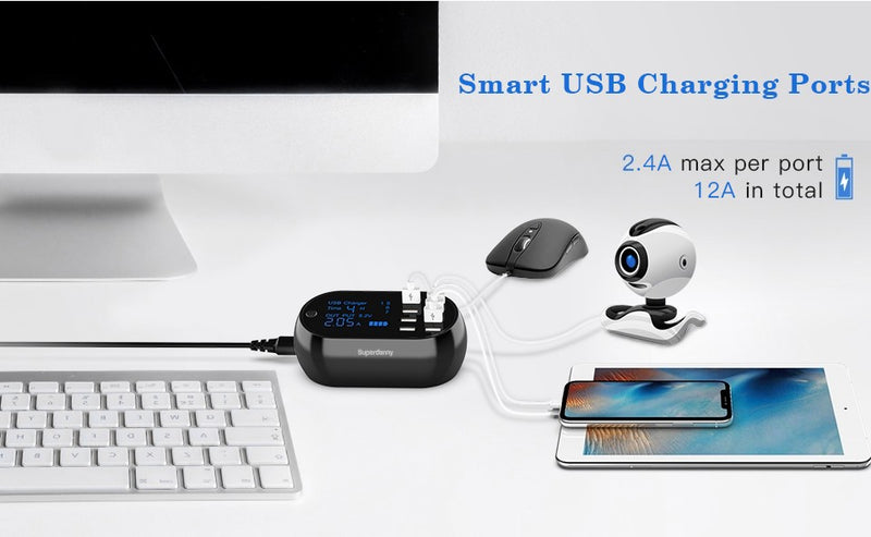 A Better USB Charging Solution for Traveling