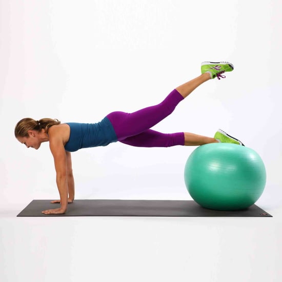 How To Undo The Damage Of Sitting Down All Day With An Exercise Ball