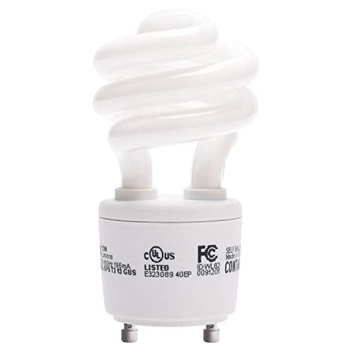 JACKYLED Gu24 CFL Light Bulbs 1-Pack