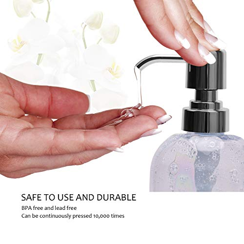 ULG Soap Pump Plastic Liquid Soap Dispenser Replacement Pump