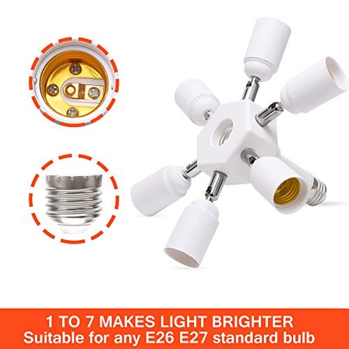JACKYLED Light Socket Splitter