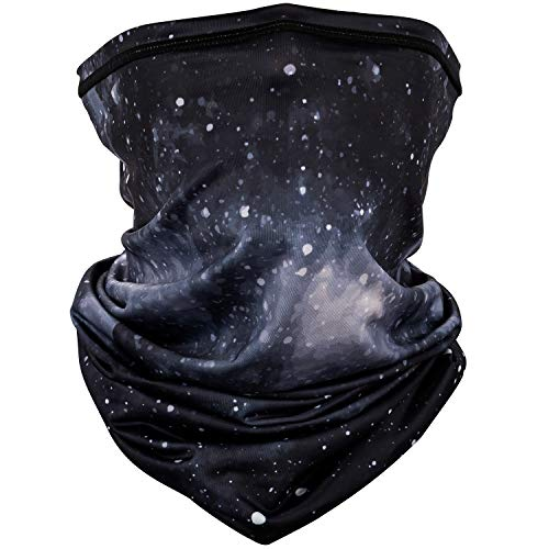 PACEARTH Face Cover Mask Bandana Neck Gaiter Scarf , starry sky 22, Adult