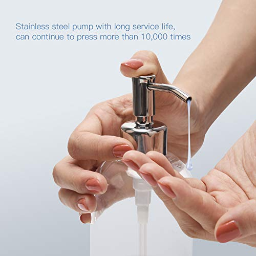 ULG Soap Pump Stainless Steel Soap and Lotion Dispensers Pump Replacement