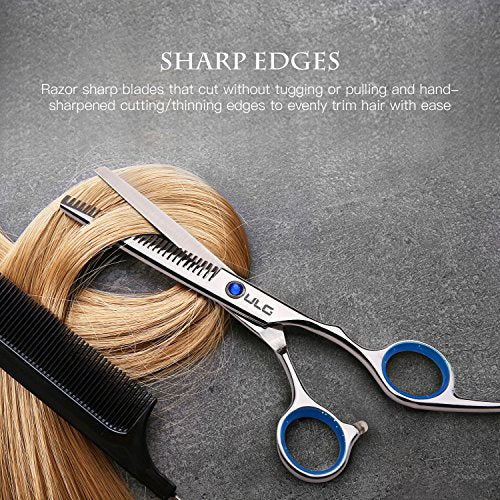 ULG Hair Cutting Scissors Thinning Teeth Shears Set