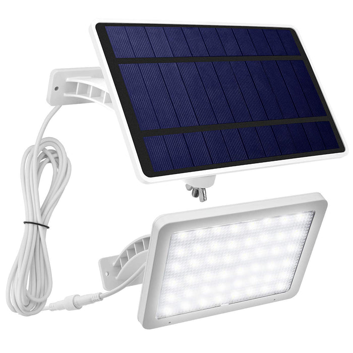 JACKYLED 48LED Solar Wall Lights Outdoor White