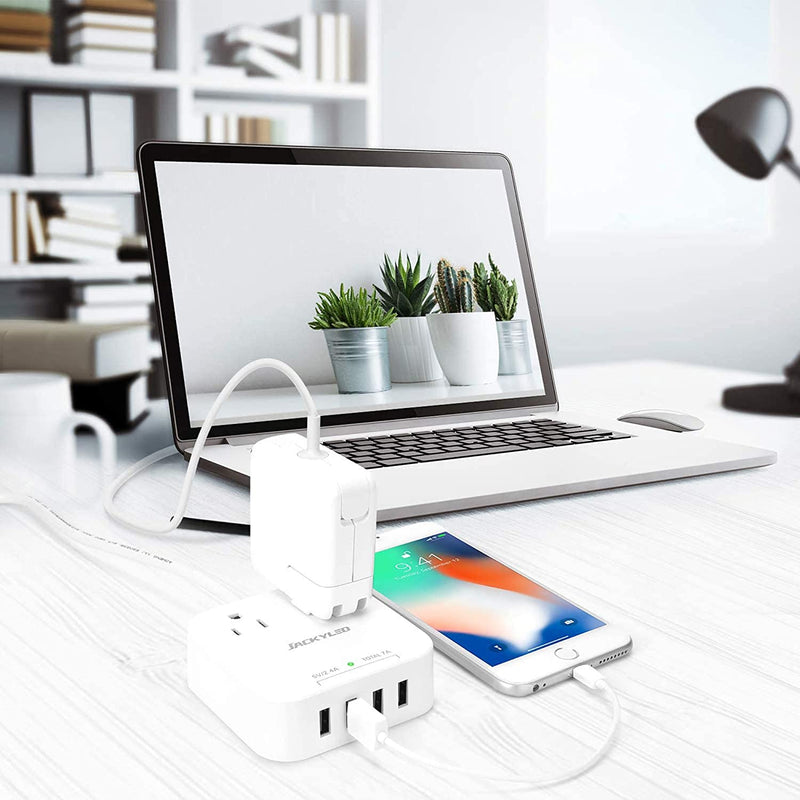 Cruise Power Strip Palm-Sized Total 7A USB Output JACKYLED