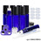 ULG 10ml Cobalt Blue Glass Empty Bottles 8 Piece