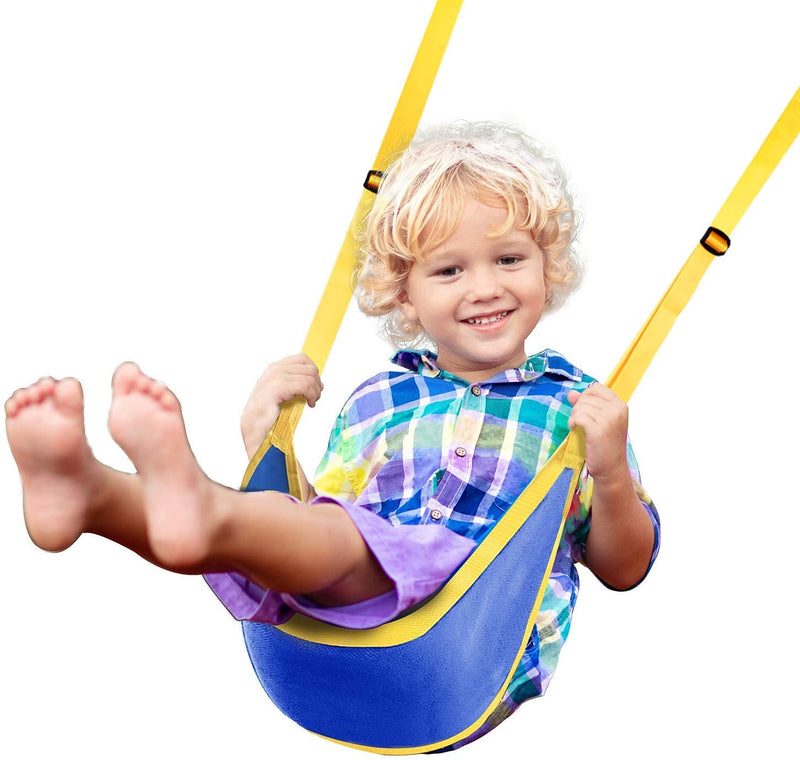 PACEARTH Swing Seat Replacement with 8.5ft Adjustable Straps