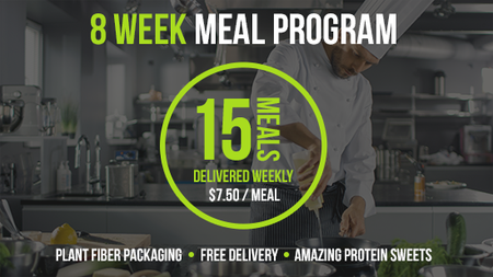 Deliver 15 Meals - 8 Week Program