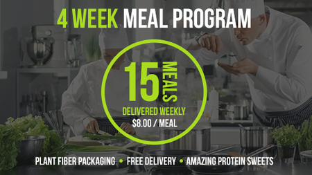 Deliver 15 Meals - 4 Week Program