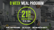 Deliver 21 Meals - 2 Month Program
