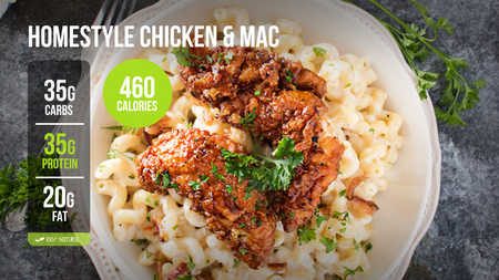 N. Homestyle Chicken & Mac (reg)