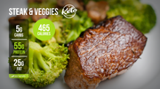 T1. Steak & Veggies (LG)
