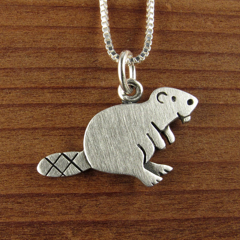 Beaver necklace