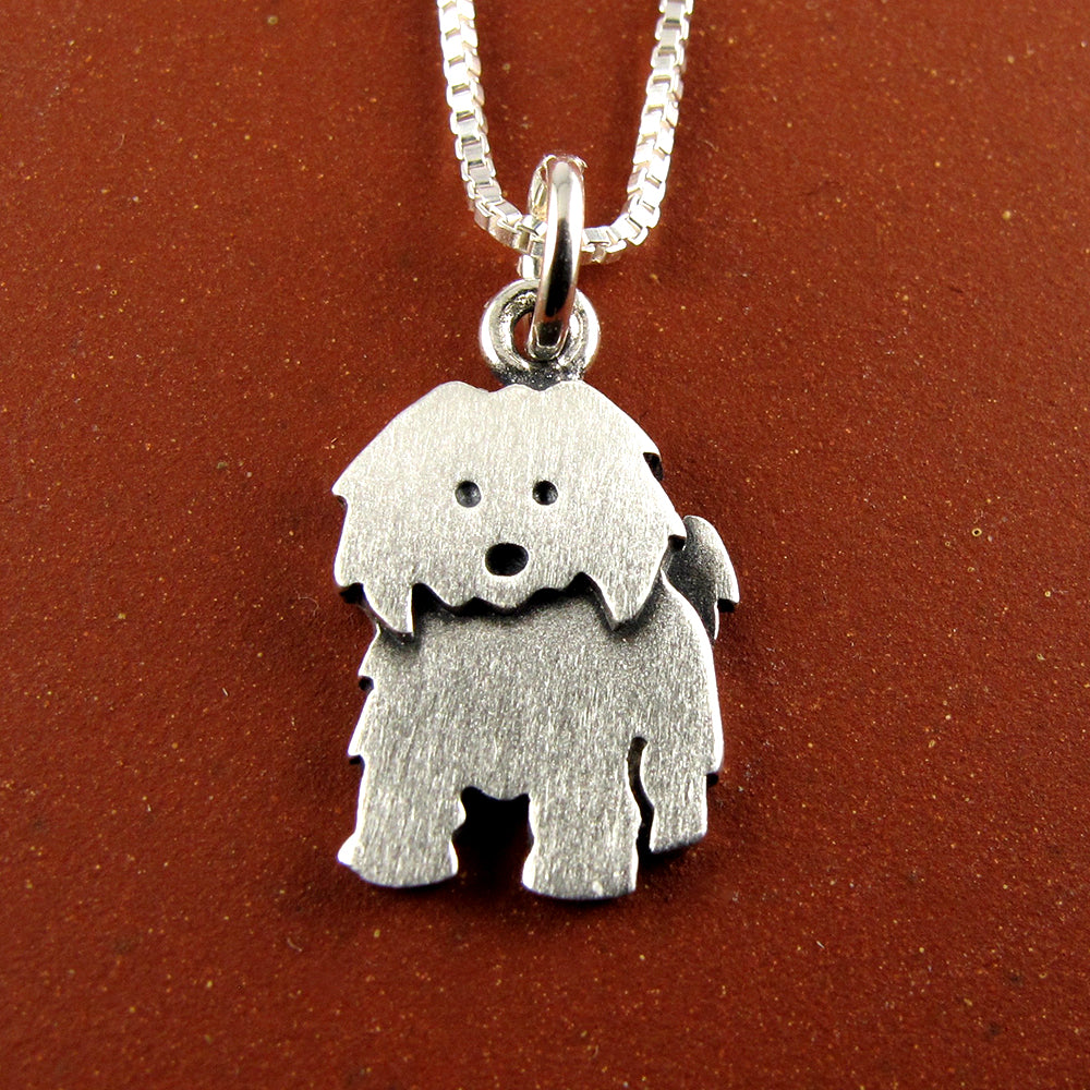 Coton de Tulear pendant / necklace